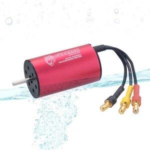 Image 3 - Waterproof 2445 2.3mm Brushless Motor 3000KV 3600KV 5400KV  for Traxxas HSP 1/16 RC Drift Racing Climbing car