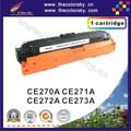 (CS-H270-273) cartucho de toner laser para hp cp5525 ce270a cp 5525 ce 270A CE270 270 70A 70 CE271A CE272A CE273A 13 k livre dhl