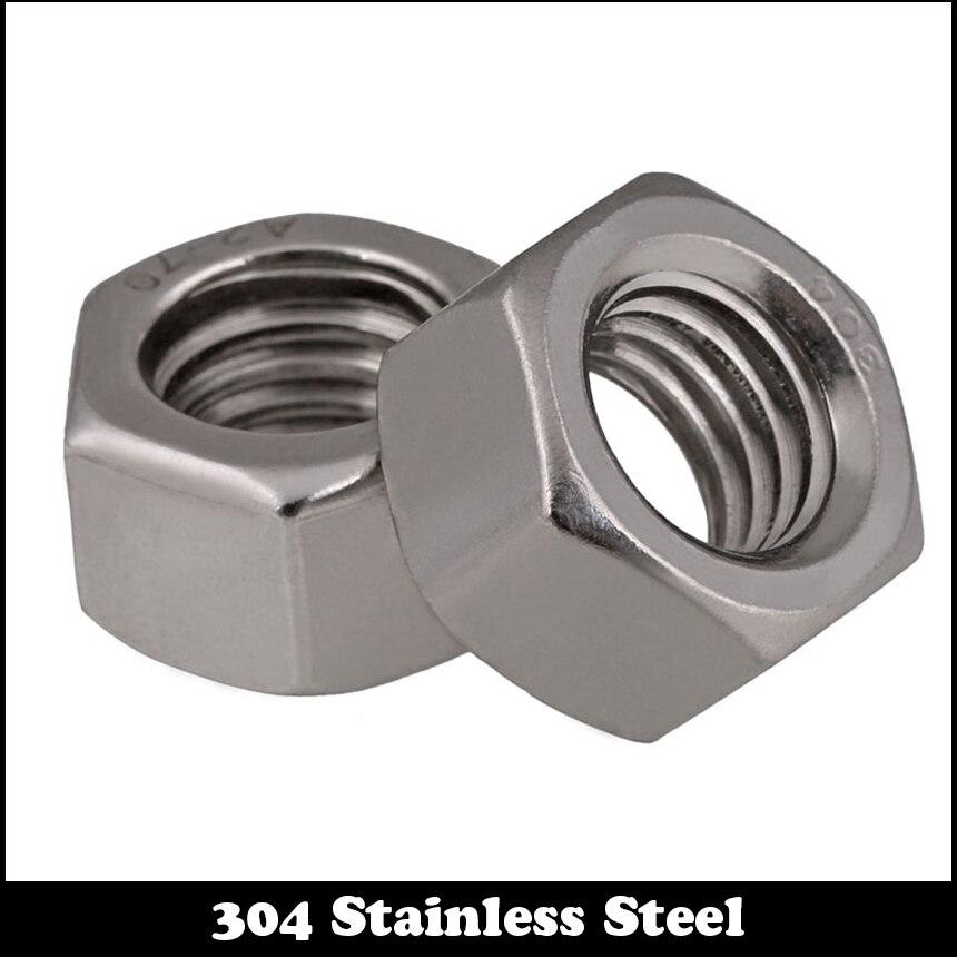 1/8 1/8 Inch 1/8-40 201 304 Stainless Steel 201ss 304ss UK Standard British Form Coarse Thread BSW Hex Hexagon Nut 1pcs 1 2 12 bsw thread 1 1 4 1 1 4 inch length 304 stainless steel bsw thread bolt unified hex hexagon screw