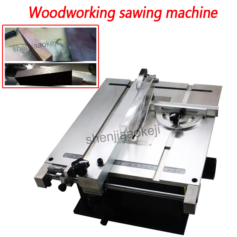 Mini scie à Table circulaire précision machines à bois scie à Table scie à Table Micro petit sciage 220 v 240 w 1 pc