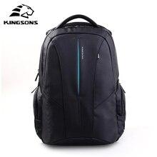 Kingsons Men 15.6 inch Laptop Backpacks For Teenager Fashion Male Mochila Leisure Travel Backpack Anti-theft Notebook Rucksack