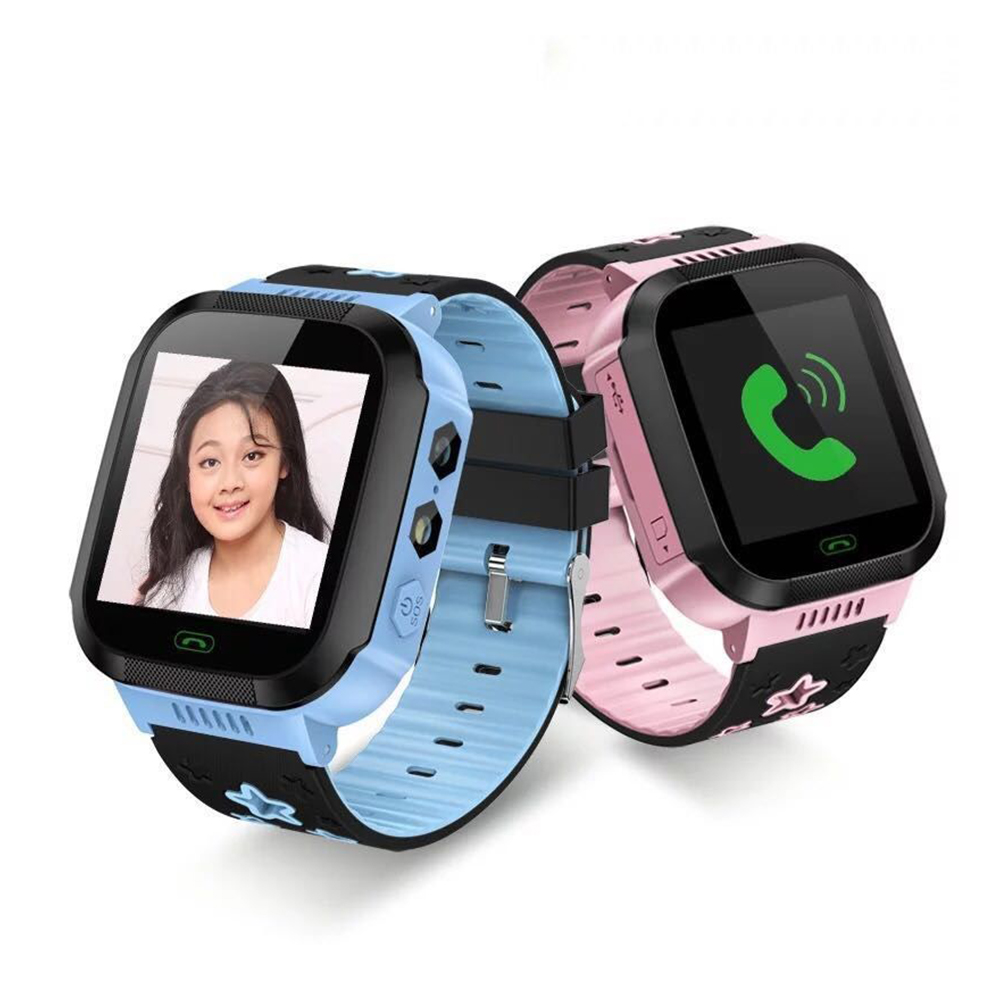 Kid Anti Lost Smart Watch Positioning Fitness Tracker Children Smart Wristband Photo Flashlight Phone Baby SOS SIM Watch
