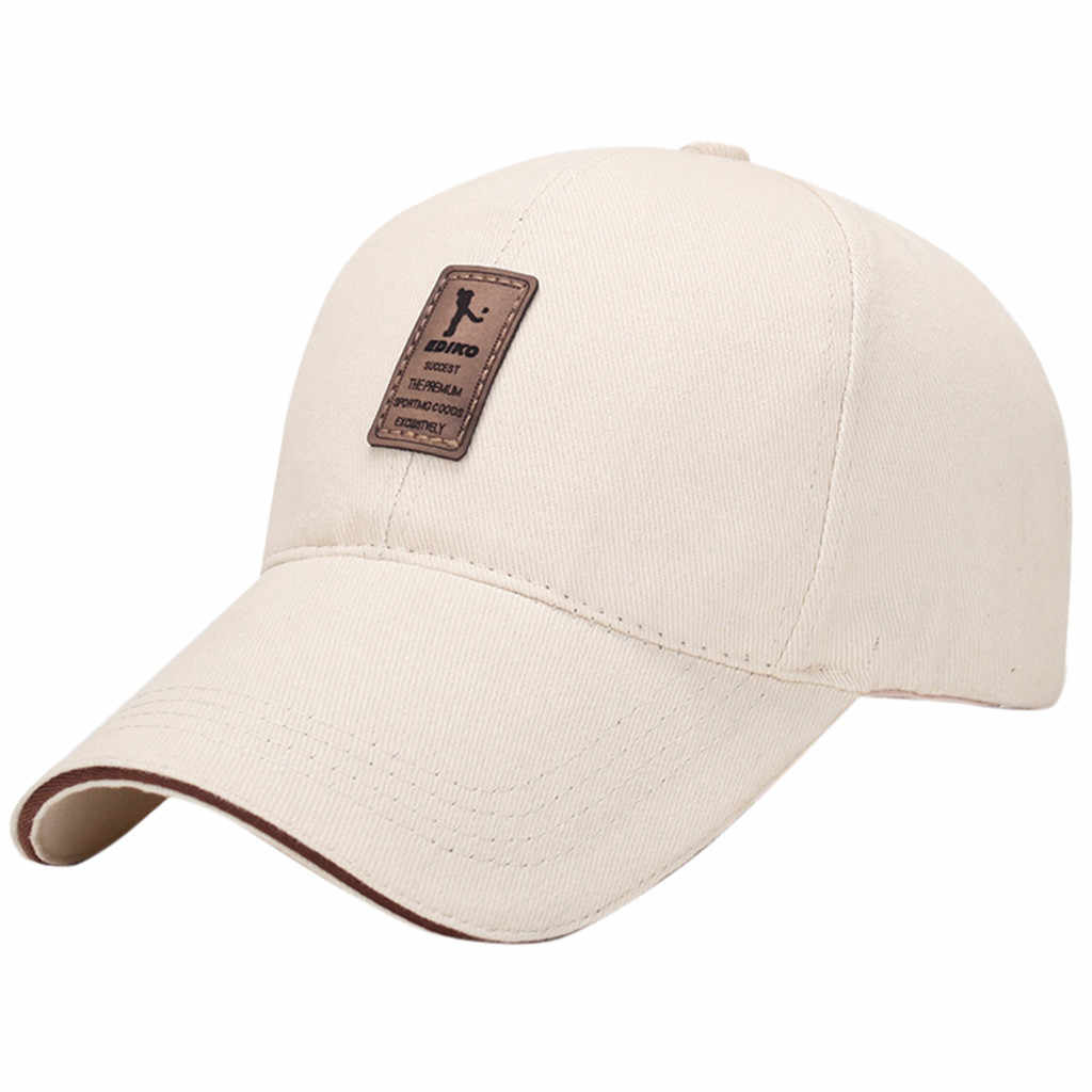 KANCOOLD High Quality Women Dad Hat Baseball Cap Men Solid Color Hats Fashion Casual Unisex Light Board Snapback Tennis Caps