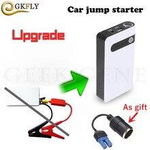 Мини Портативный прыжок автомобилей Стартер Power Bank 12000 мАч Emergecny Авто пусковое устройство Автомобильное зарядное устройство для автомобильного аккумулятора Buster автомобиля стартер