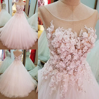 Elegant Flowers Prom Gowns Luxury Appliques Cap Sleeves Long Evening Gown Custom Made O Neck Vestidos Formal Party Dress