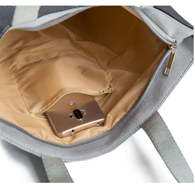 Miyahouse  Eco Reusable Foldable Women's Shoulder Shopping Bag Ladies Casual Tote Bag Female's Handbag With Large Capacity 6