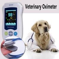 Yonker For veterinary Pets Dog Cat Vet Handheld Pulse Oximeter Medical Portable Handheld Blood Oxygen SpO2 saturation oxymetre