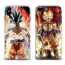 Dragon Ball Z DBZ GT Goku Super Coque Phone Case Cover Shell For Apple iPhone X 8Plus 8 7Plus 7 6sPlus 6s 6Plus 6 5 5S SE 4s 4