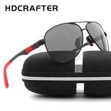 HDCRAFTER 2017 Moda Polarizadas Gafas de Sol de Los Hombres UV400 gafas de Sol de Diseñador de la Marca gafas gafas de sol Gafas