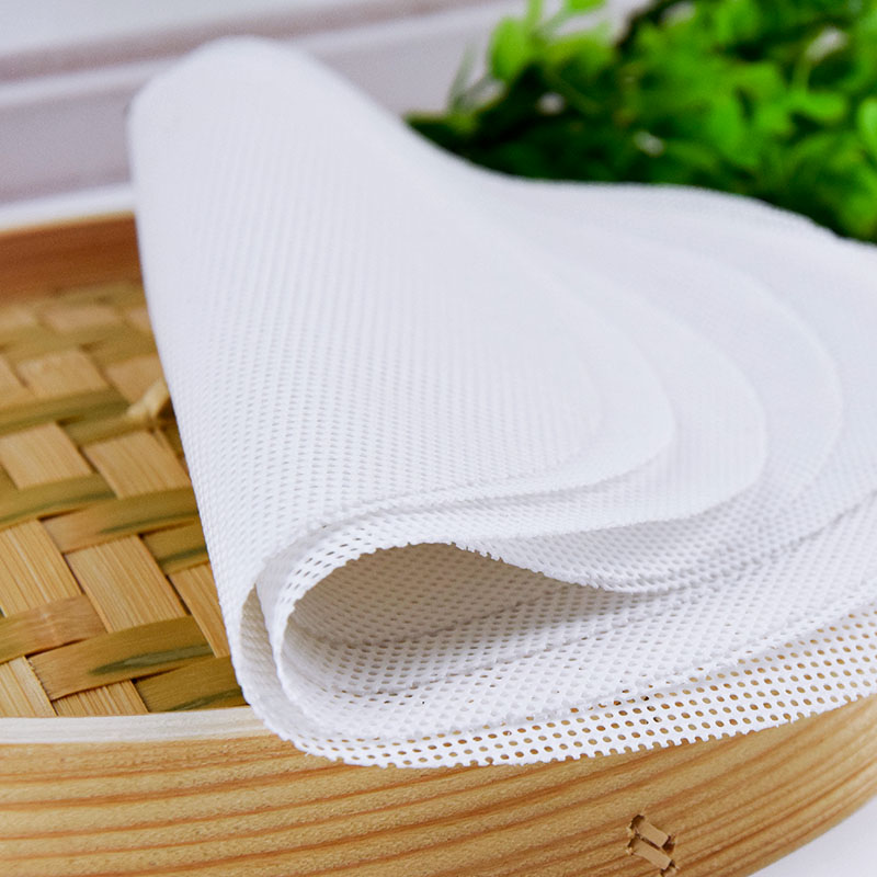 50cm Reusable Silicone Grid Non-stick Kitchen Cooking Steam Mat For Steamer Cooker Stuffed Bun Dumplings