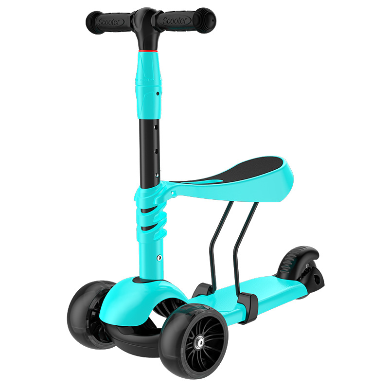 Здесь можно купить  Detachable Three Wheels Children Scooter 3 In 1 Can Ride Tricycle Baby
