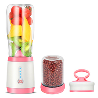 Multifunctional Electric Juicers Cup Fruit Extractor USB Rechargeable home office Portable Blender Juice Machine 4 Sharp Blades