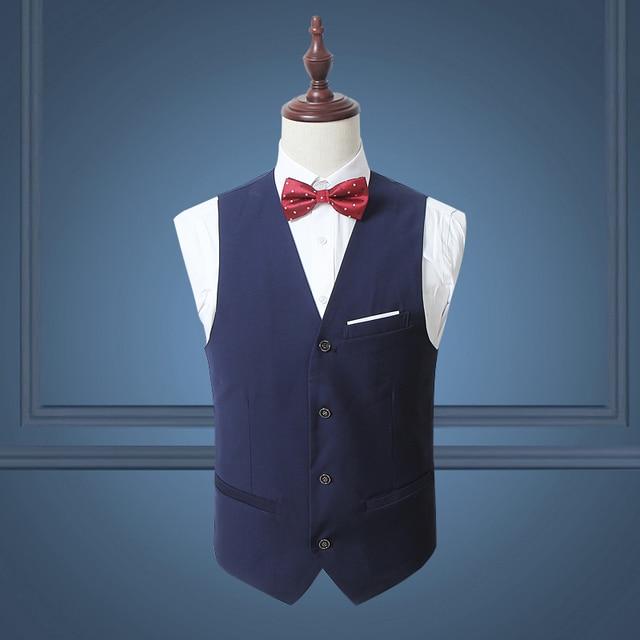 5 cores primavera outono coletes moda colete masculino Casual Slim Fit coletes Plus Size 3XL 4xl 5xl 6xl 15of