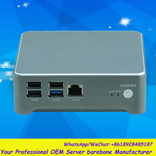 Desktop Fanless Industrial Mini PC with J1900 Quad Processor