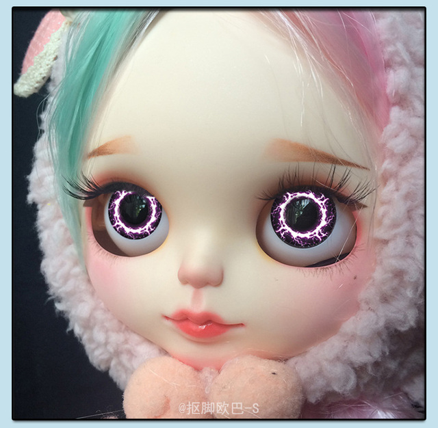 Blythe Doll Eyechip Patterns & Tools Complete Kit