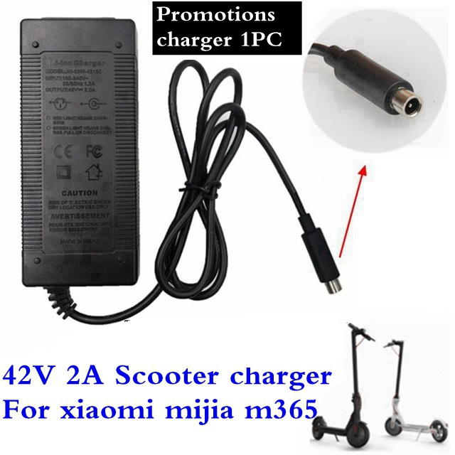1PC Lowest Price 42V 2A Electric Skateboard Adapter Scooter Charger For Millet Mijia M365 Electric Scooter Bicycle Accessories