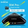 Original broadlink rm2 rm pro inteligente domótica universal wireless wifi control remoto + ir + conmutador de rf a través de ios y android