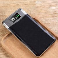 20000 mAh Large Capacity Fashion New Powerbank Output Power Bank Portable Charger External Battery for MP4 Xiaomi MI iPhone
