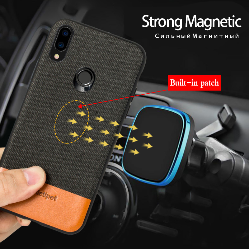 Magnetic Men Business phone case for huawei honor 20 Pro Lite p30 Nova 4 honor 9x Back cover Shockproof For huawei mate 20 lite