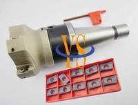 New NT30 FMB22 45L + BAP400R 63-22-4T face end mill  + 10pcs APMT1604 carbide insert CNC milling