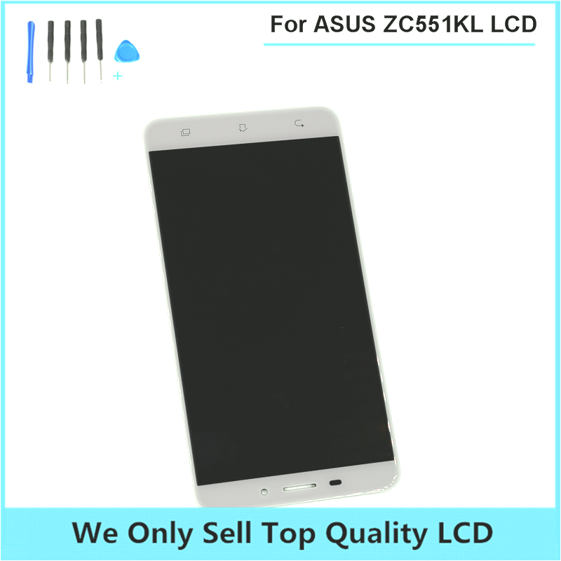 For ASUS ZenFone 3 Laser ZC551KL LCD Display with Touch Screen Digitizer Panel Assembly ZC551KL LCD Free Shipping with Tools