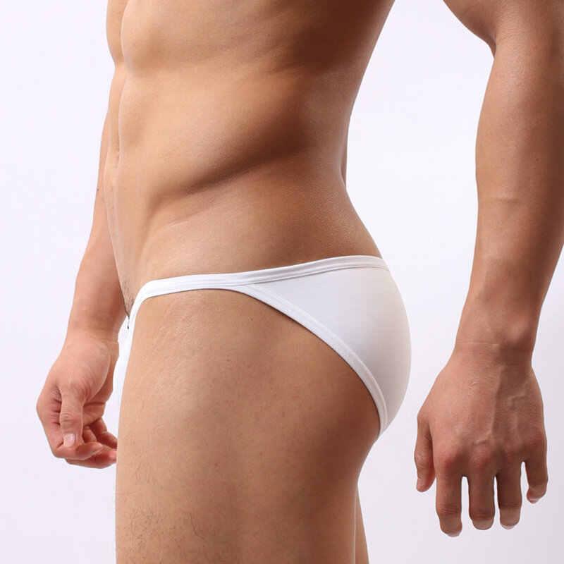 ارتفاع قطع مثير تانغا ملابس الرجال ملخصات عادة الملابس الداخلية ملابس سباحة حريمي مثلي الجنس ملابس السباحة الاستحمام الشاطئ الجليد الحرير سراويل للسباحة رجل زلة