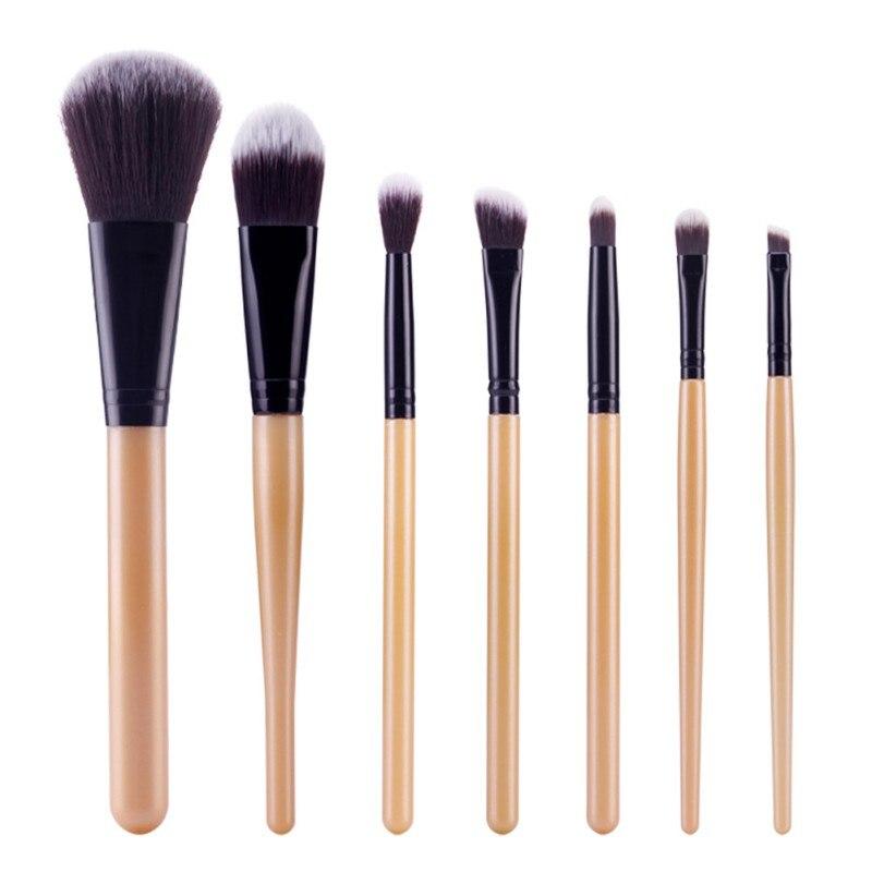 Professional 7 PCS font b Makeup b font Brushes font b Set b font Tools Make