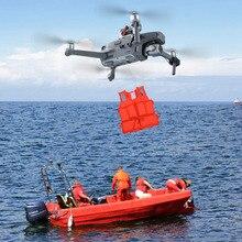 น้ำหนักเบา Thrower สำหรับ DJI Mavic 2 Pro/ซูม Drone งานแต่งงานแหวนของขวัญเหยื่อตกปลาฉุกเฉินเอดส์ Air ลดลงระบบ Thrower