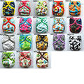 [Sigzagor]1 Newborn Baby Cloth Diaper Cover Nappy, Adjustable Waterproof PUL Double Gusset,8-10lbs, 3-5kg,18 Choices