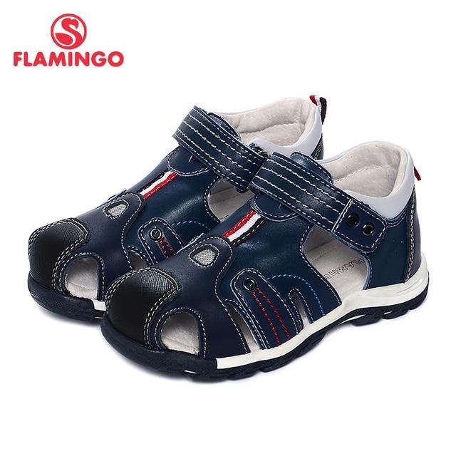 Flamingo известный бренд 2017 новых прибытия весенние и летние дети мода высокого качества сандалии для мальчиков 71s-bst-0259