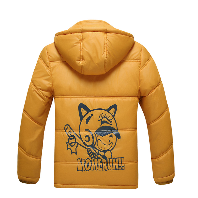 Image 4 - Children Outerwear Warm Coat Sporty Kids Clothes Waterproof Windproof Thicken Boys Girls Cotton padded Jackets Autumn and Winter-in Jackets & Coats from Mother & Kids