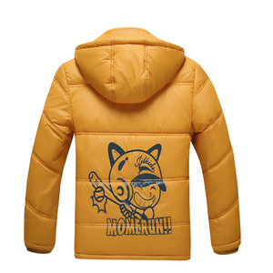 Image 4 - Children Outerwear Warm Coat Sporty Kids Clothes Waterproof Windproof Thicken Boys Girls Cotton padded Jackets Autumn and Winter