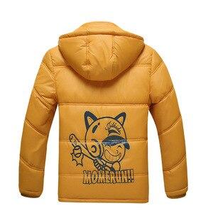Image 4 - Manteau chaud de sport pour enfants, vestes chaudes épais imperméables et coupe vent en coton, pour garçons et filles, vestes dautomne et dhiver, vêtements dextérieur pour enfants