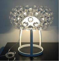 Originality Study Table Lamp Acrylic Living Room Sweat Bead Ion Personality LED Model Room Table Lamp