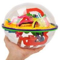 208 Steps Smart 3D Maze Ball Magical Intellect Balance Logic Ability Puzzle Ball Toy Intelligence Challenge