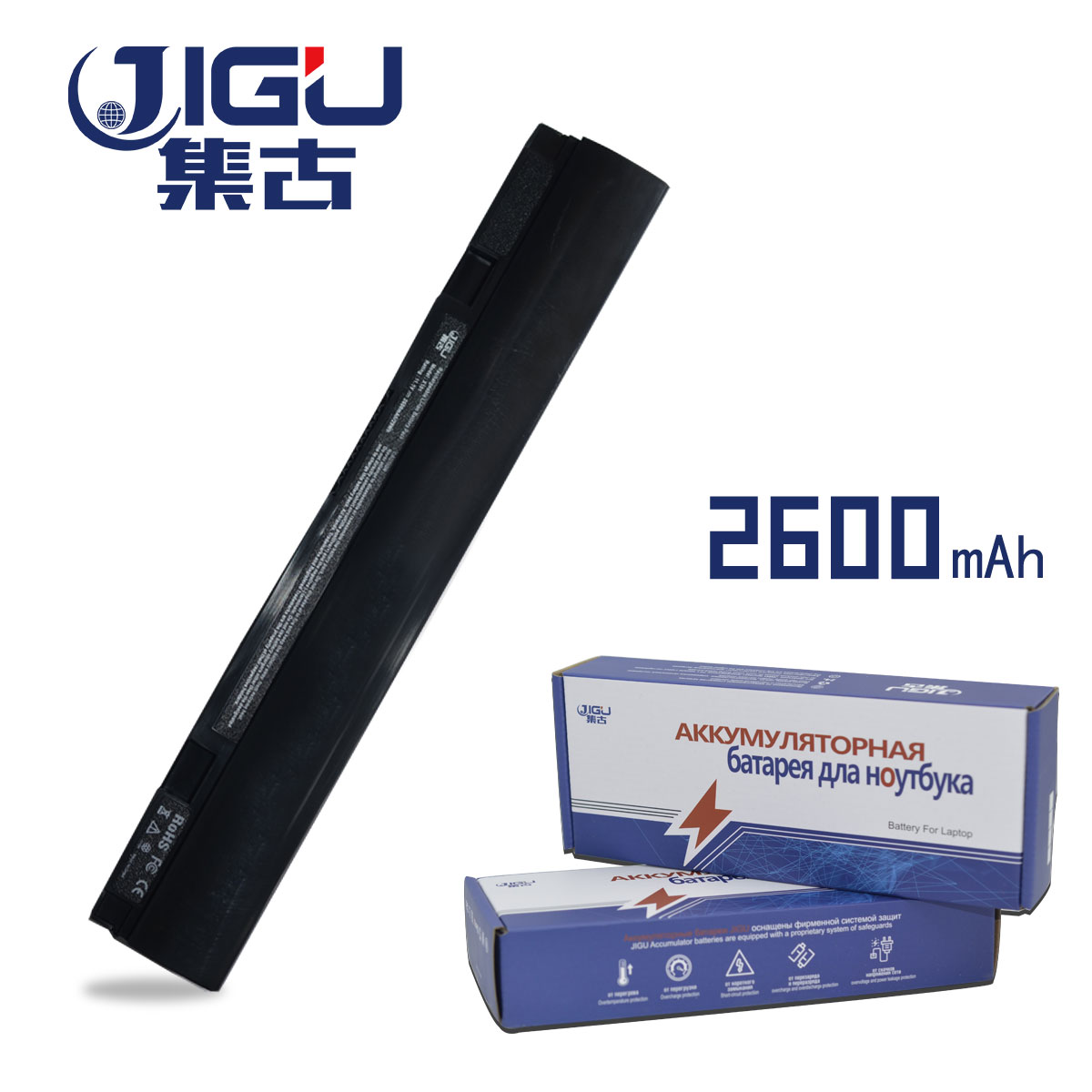 JIGU Laptop Battery For ASUS Eee PC X101CH X101 X101C X101H Replace: A31-X101 A32-X101 цена