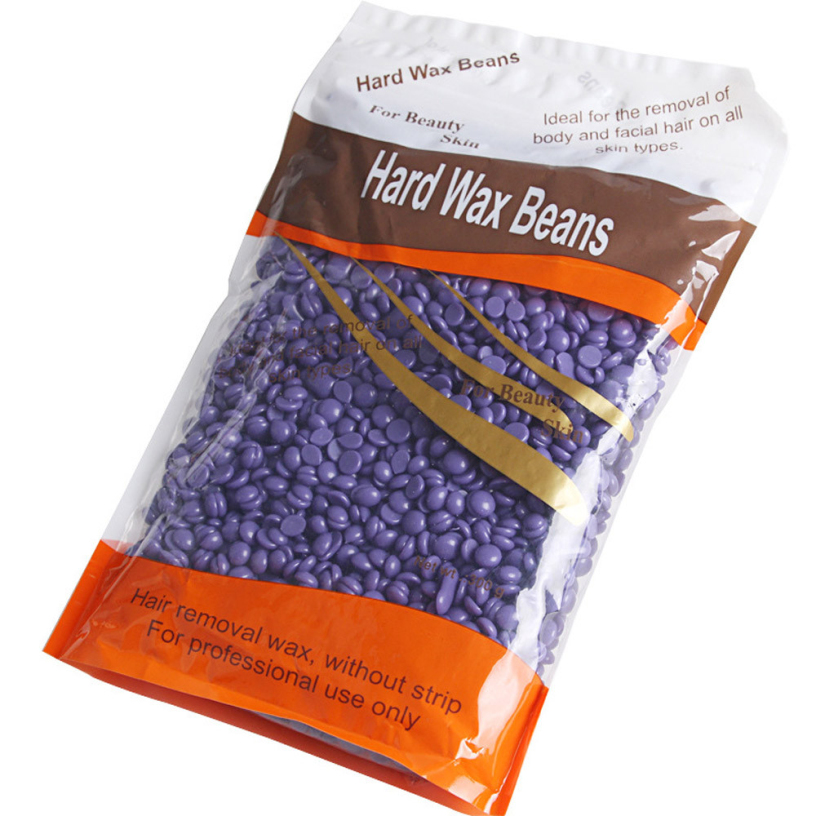 Best Deal New Purple Hair Removal Cream Color No Strip Depilatory Hot Film Hard Wax Pellet Waxing Bikini Hair Removal Bean 1pc