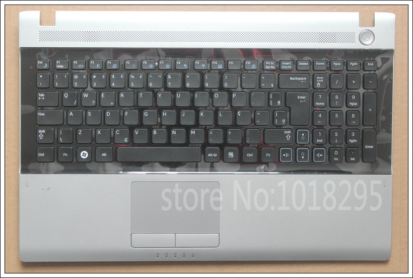 Brazil BR keyboard for Samsung NP RV511 RV509 RV515 RV520 laptop keyboard with Palmrest case cover 100 pcs free shipping new dc jack for samsung rv500 rv511 rv509 rv515 rv520 rv720 rv530 rv515 rv420 dc power jack port socket