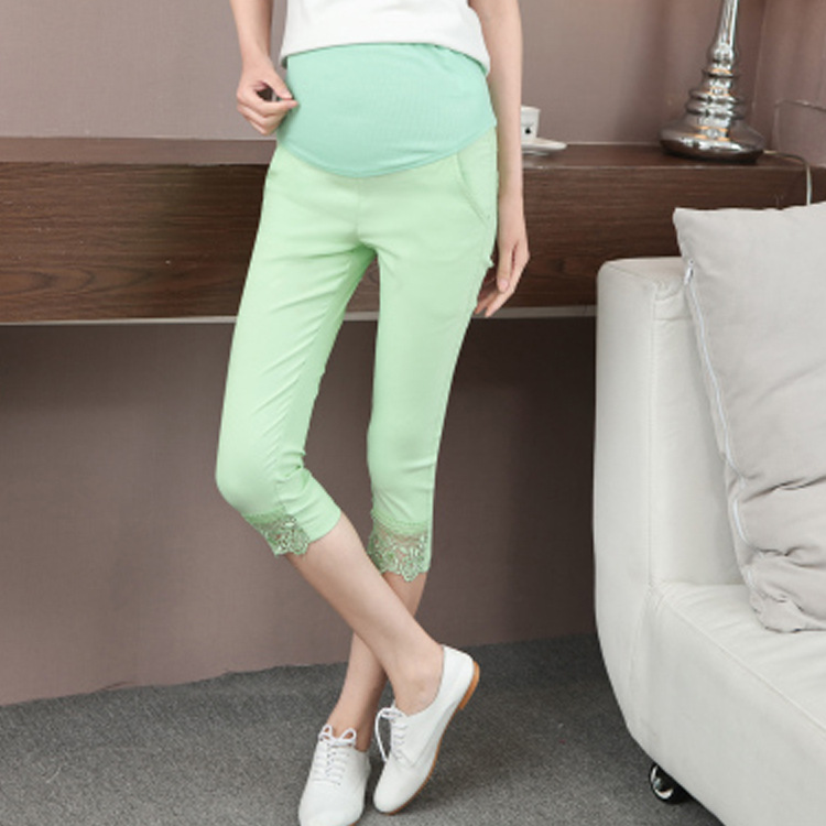 NEW Fashion Maternity Pants summer Maternity Trousers High waisted Pregnancy Trousers for pregnant women pregnancy clothes