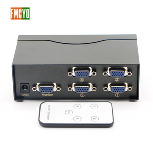 Kvm Switch VGA 5 Port USB 2.0 KVM Switch 1600P VGA SVGA Switcher Splitter Box for Keyboard Mouse