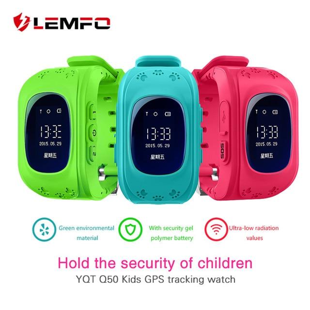 9c4918652ab Hot Q50 GPS Crianças Relógios Relógio Inteligente para As Crianças Do Bebê  Monitor de Chamada SOS