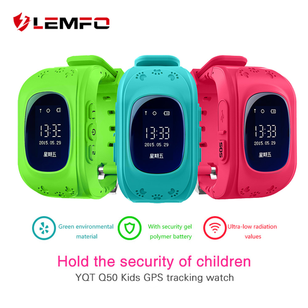 Hot Q50 GPS Kids Watches Baby Smart Watch for Children SOS Call Location Finder Locator Tracker Anti Lost Monitor Smartwatch 1pcs 2017 new gps tracking watch for kids q610s baby watch lbs gps locator tracker anti lost monitor sos call smartwatch child page 6