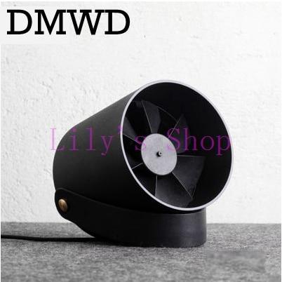 DMWD Desktop USB mini air conditioner Fan Portable Ventilation Conditioning Blower cooling fans Adjustable Speed cooler office