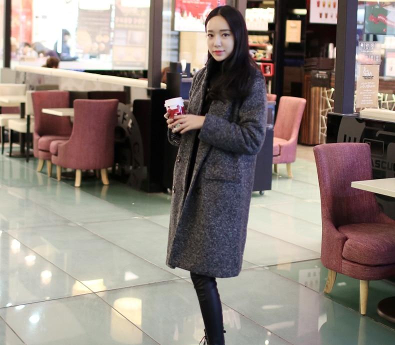Nouvelle Chaud Survêtement Color Mode Laine Et 2018 Femmes D'agneau D'hiver Épais Photo Veste Occasionnel Manteau Manteaux De H797 Long gfv7IYb6ym