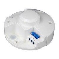 5 8GHz LED Microwave 360 Degree Radar Motion Sensor Light Switch Ceiling Light Detector M25