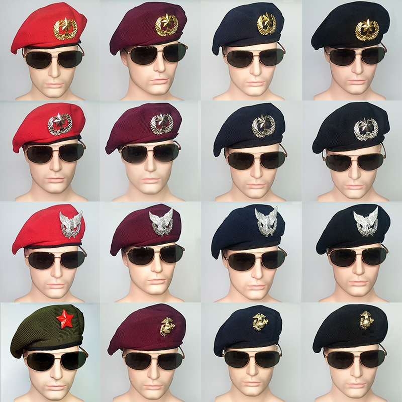 Top Quality Special Forces Military Berets Caps Mens Army Summer Beanies Outdoor Breathable Soldier Training Mesh Cap