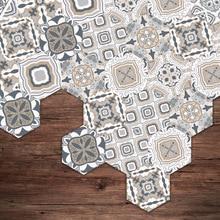 New 2019 Creative Tiles Anti-skid Wear-resistant Waterproof Floor Living Room Kitchen Bathroom Wall Floor Stickers Home Decor