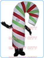 Талисман Рождество Конфета талисмана для взрослых, чтобы носить для продажи мультфильм праздник питание тема карнавал платье 2593