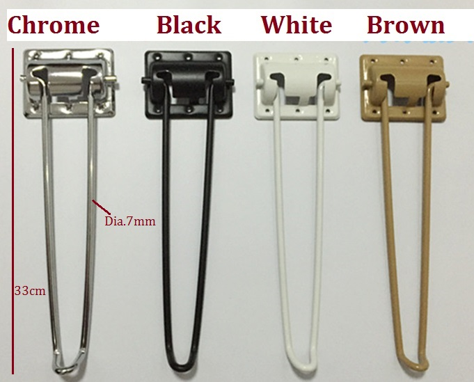4pcs Lot Height 29cm 11 4 Folding Legs Hairpin Hairpins Leg Laptop