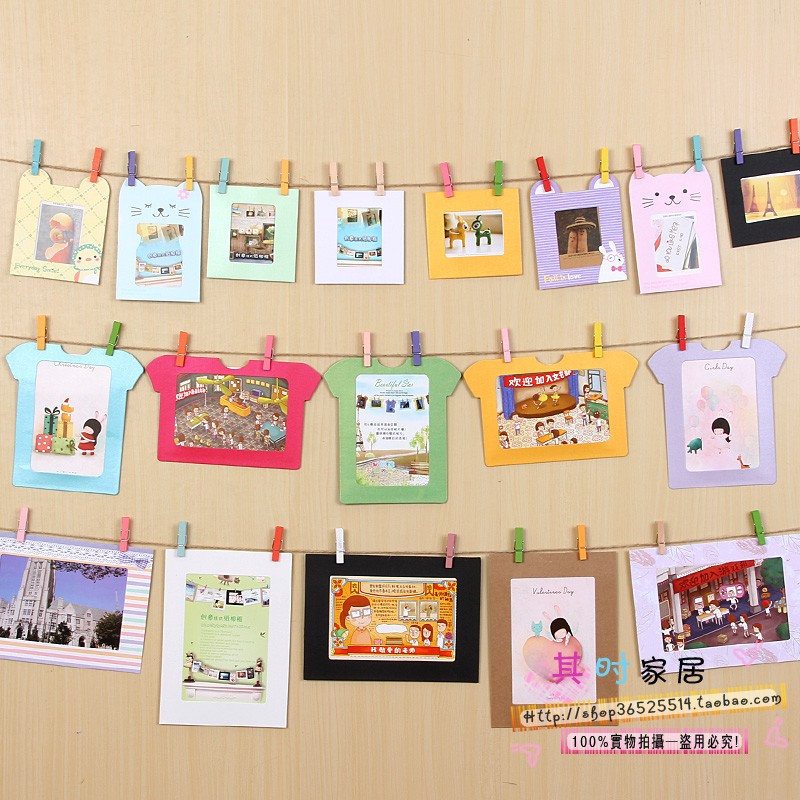 Buy 2015 new picture frame quadros de - Home decoration with paper ...